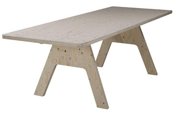 Crisis Table - Piet Hein Eek
