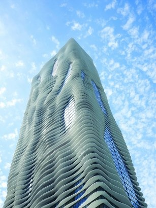 Aqua Tower by Studio Gang Architects