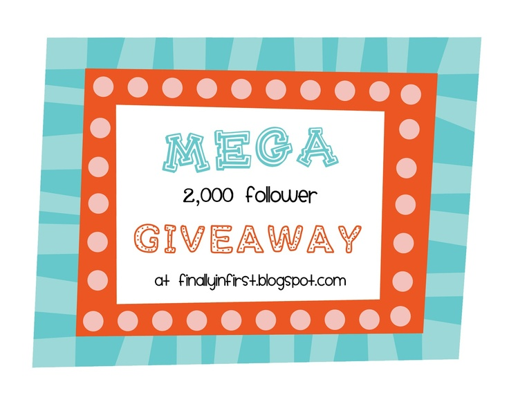 Check out this giveaway! Finally in First: MY MEGA GIVEAWAY: School Blogs, Classroom Ideas Misc, Teaching Ideas, Teacher Blogs, School Stuff, School Ideas, Awesome Giveaway