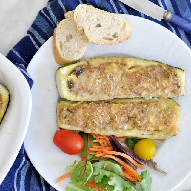 Cocinar con Manuela: Cómo hacer italiana Calabacín relleno