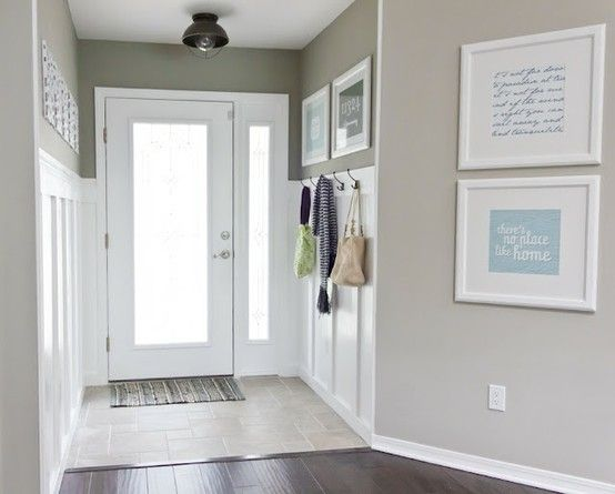 89 best images about silver gray wall colors on pinterest for Benjamin moore smoke gray
