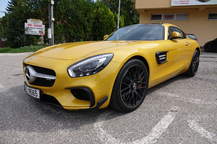 #Mercedes #AMG GT in #BRABUS edition. What a beast!
