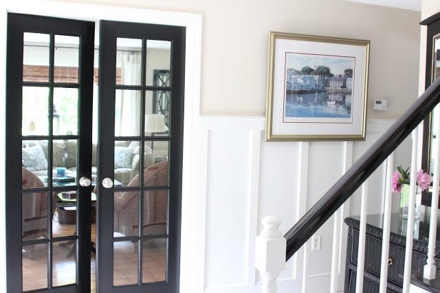 die besten 25 white paneling ideen auf pinterest wei e holzverkleidung holzverkleidung. Black Bedroom Furniture Sets. Home Design Ideas