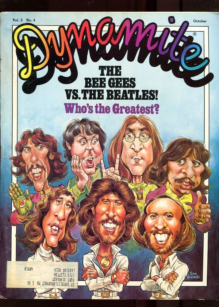 October 1978 The Bee Gees Vs The Beatles Who S The