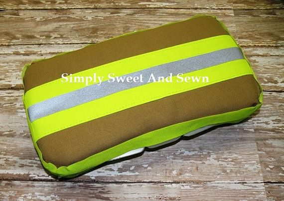 Firefighter Baby Wipe Case  baby shower gift New by SimplySweetByB, $10.00...... For your future babies