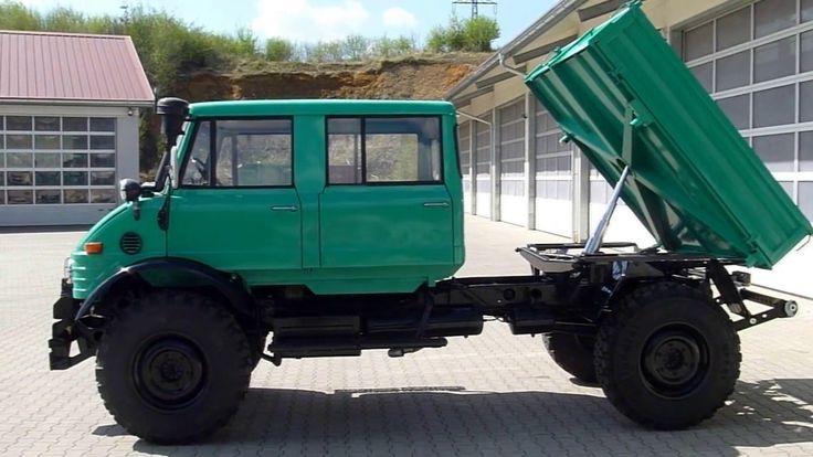 Unimog U900 Doppelkabine; Unimog Baureihe 416 Doka - YouTube
