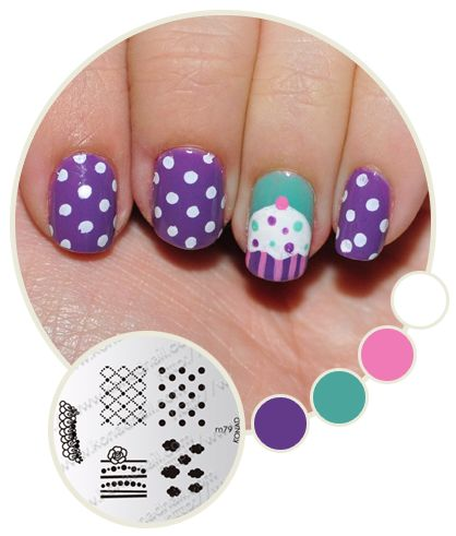 25 unique painted nail art ideas on pinterest diy painting nice tips to care for painted nail hand design painted nail cupcake picture fixsti prinsesfo Image collections