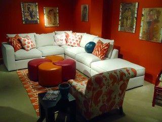 Indochine - asian - sectional sofas - cleveland - Norwalk Furniture - Norwalk