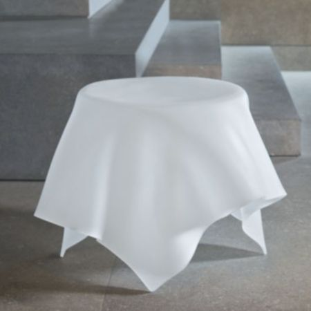 Foulard End Table. Crazy Table That Looks Like A Table Cloth.