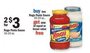 Meijer: Ragu Sauce ONLY $0.67!!