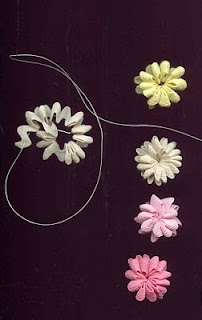 Rick Rack Flowers - Awesome for Scrapping!!