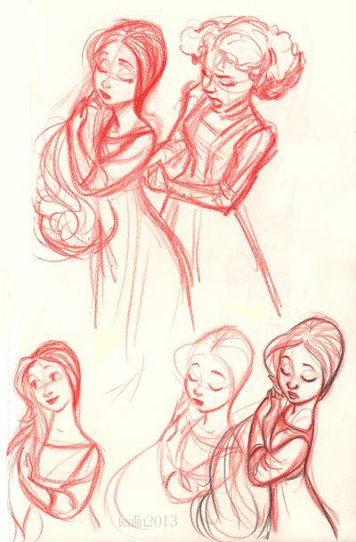 tealin - othello sketches