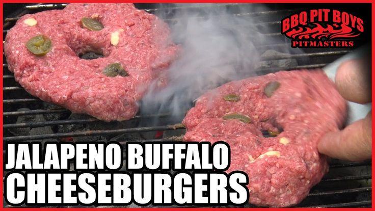 Jalapeno Buffalo Cheeseburgers BBQ Pit Boys