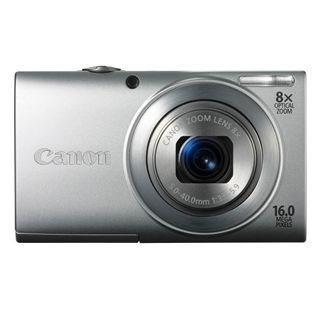 "Canon PowerShot A4000 IS 16MP 8x Optik 3.0"" Lcd Dijital Kompakt Gümüş :: Al Bak Avm"