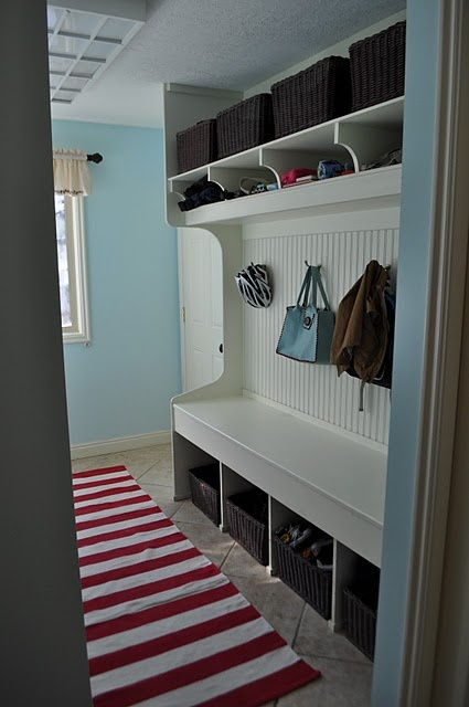 Like this for the laundry room/mud room.