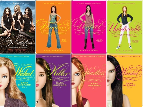 I watch the t.v. show so I definitely need to read the Pretty Little Liar books