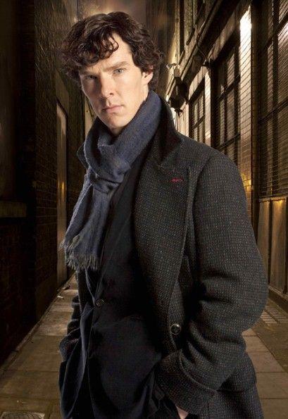 Benedict Cumberbatch Sherlock Holmes Belstaff Millford Coat 3