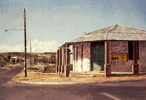 Three Trees Tea, Corner Store, Oudtshoorn by Capelight, via Flickr