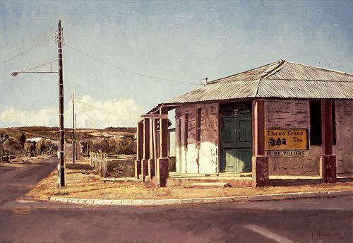 Three Trees Tea, Corner Store, Oudtshoorn by Capelight, via Flickr