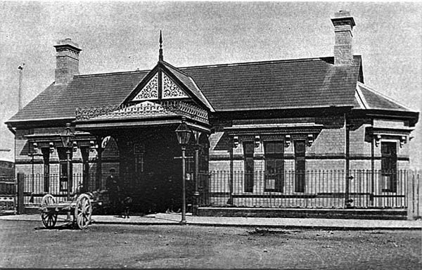 1891 Railway Station Bundoran Co Donegal