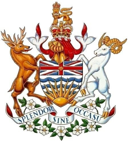 Coat of Arms of British Columbia | #BC #heraldry