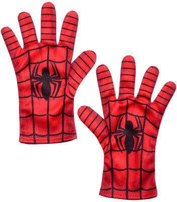Marvel Comics Ultimate Spider-Man Boy/'s Black//Blue Gloves 2 Piece Set NWT