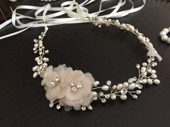rose gold hochzeit haar kamm art deco braut haarschmuck vintage filigrane kamm perle kristall