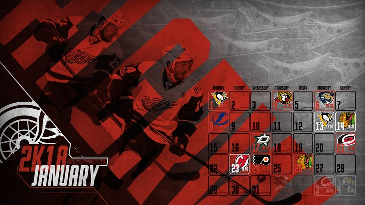 Schedule Wallpaper for the Detroit Red Wings Regular Season 2017-18. Game times are CET. Made by Gergő Tobler, aka TGer's DIY #tgersdiy #LGRW