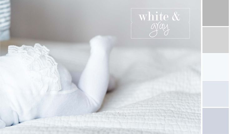 White & Gray Palette Inspired By Little Baby Feet | Sofia Damén | photo by www.dmkphotography.fi