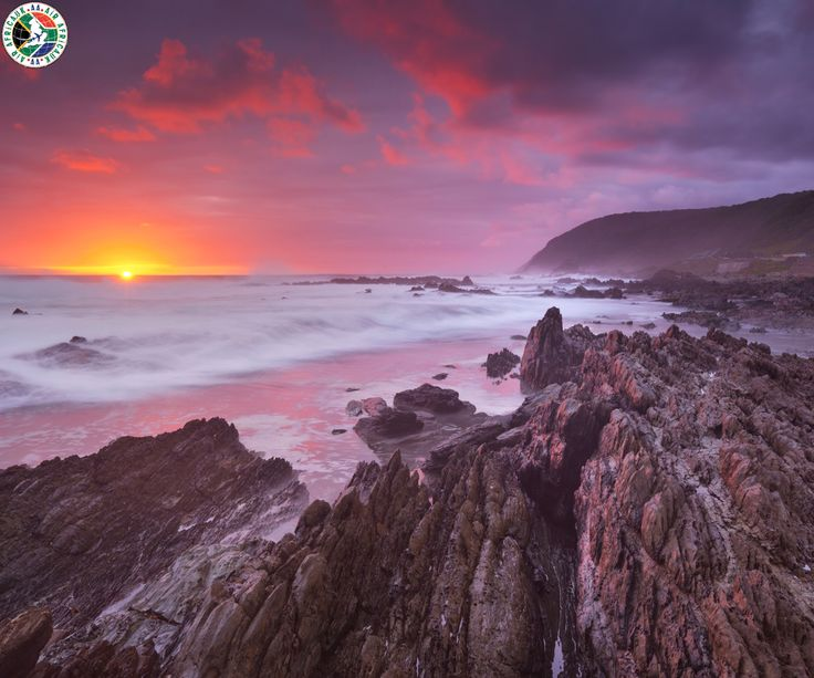 Rocky Coastline Of Tsitsikamma National Park, South Africa  |  Call Us Now: 0203 515 0804   |  #travel #southafrica #tsitsikammanationalpark #coastline #airafrica