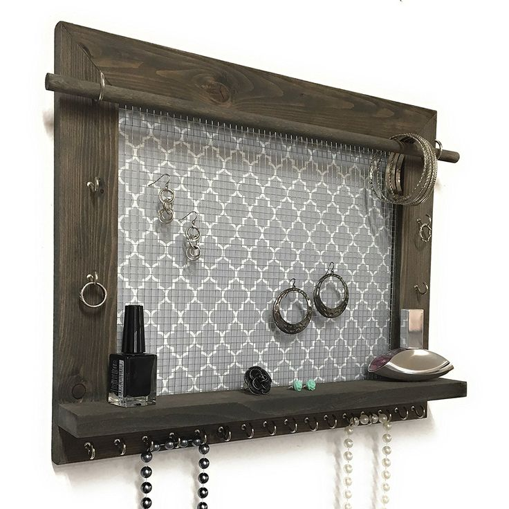 17 best ideas about hanging jewelry organizer on