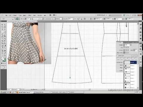 Model uygulamalı elbise kalıbı 11 /The model applied dress pattern 11