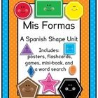 Perfect for Spanish Dual Language / Language Immersion programs, this packet has NO English on student pages!  Colorful Spanish shapes vocabulary u...