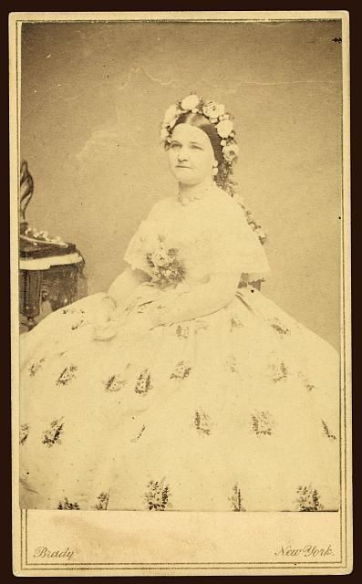 Mary Todd Lincoln By Matthew Brady Mary Todd Lincoln