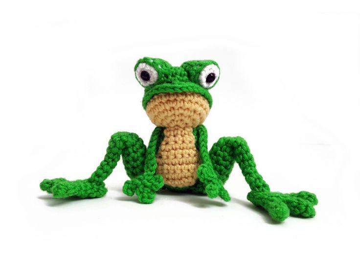 Foggy the Baby Froggy amigurumi pattern by YukiYarn Designs