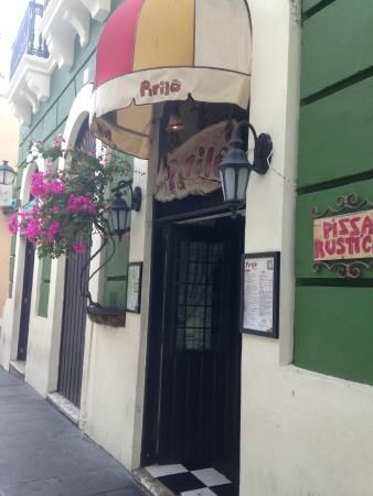 Pirilo Pizza Rustica Restaurant- San Juan, Puerto Rico