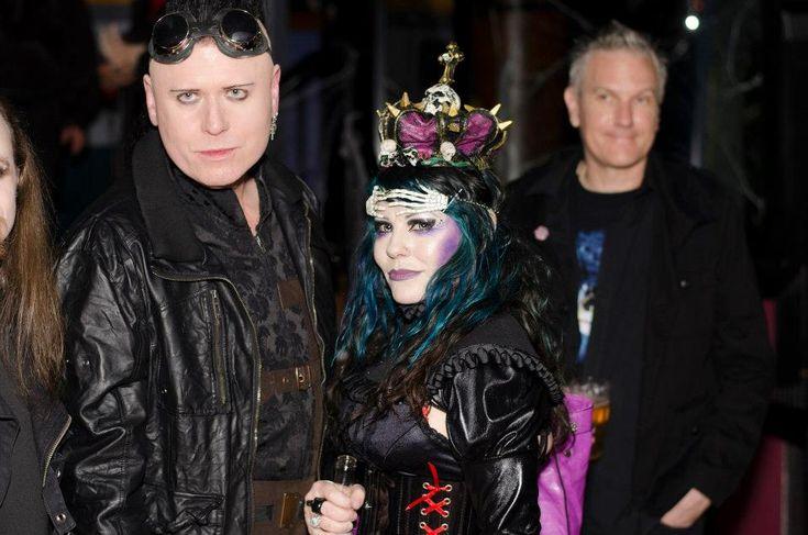 Me as #Evil Queen at goth club