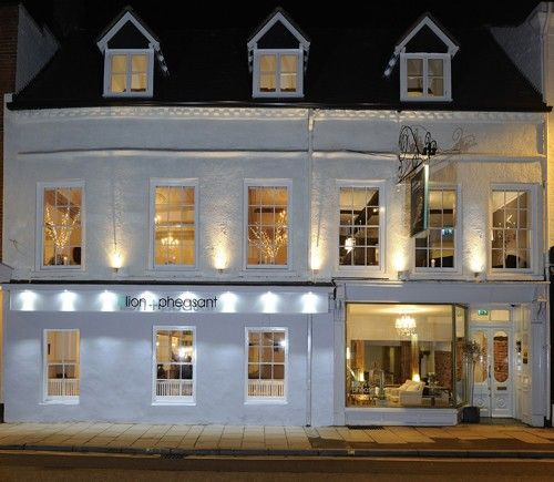 Great Hotel in Shrewsbury- The Lion and The Pheasant. (Beyond the Blue Umbrella)