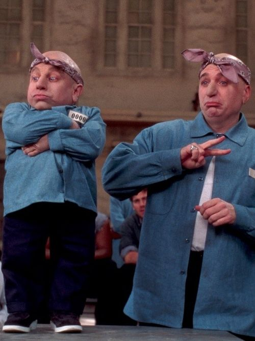 "Austin Powers / Dr. Evil & Mini Me! From ""Goldmember"" :)"