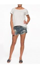 Shorts Dusty Bandits BLUE - passion for colors ss15 - Raglady