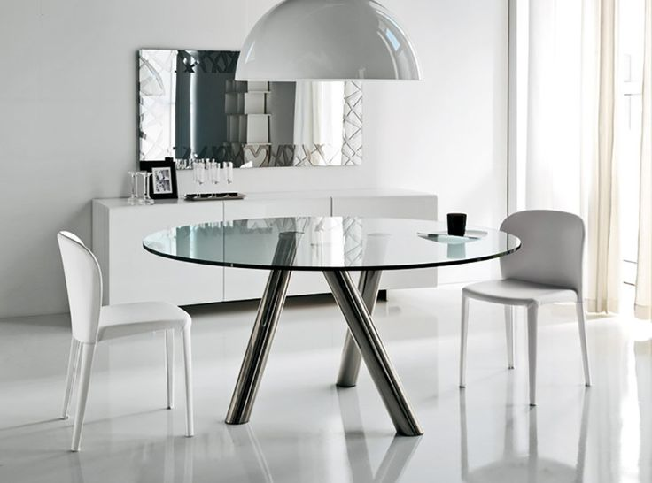 Modern Dining Table Ray by Cattelan Italia - $2,275.00