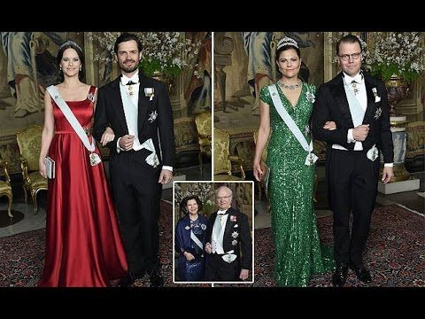 Prince Carl Philip and Prince Sofia Attend Glittering Dinner After Annou...