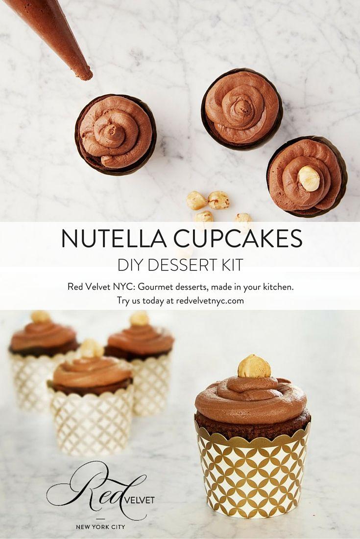 staple to create this rich hazelnut cupcake recipe. Dark chocolate ...