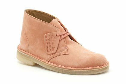 Womens Originals Boots - Desert Boot in Dusty Pink from Clarks shoes