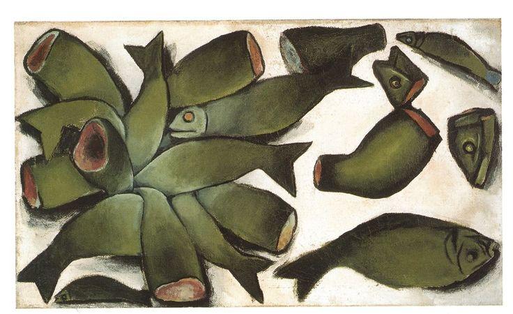 Andrzej Wróblewski, Obraz na temat okropności wojennych, 1948