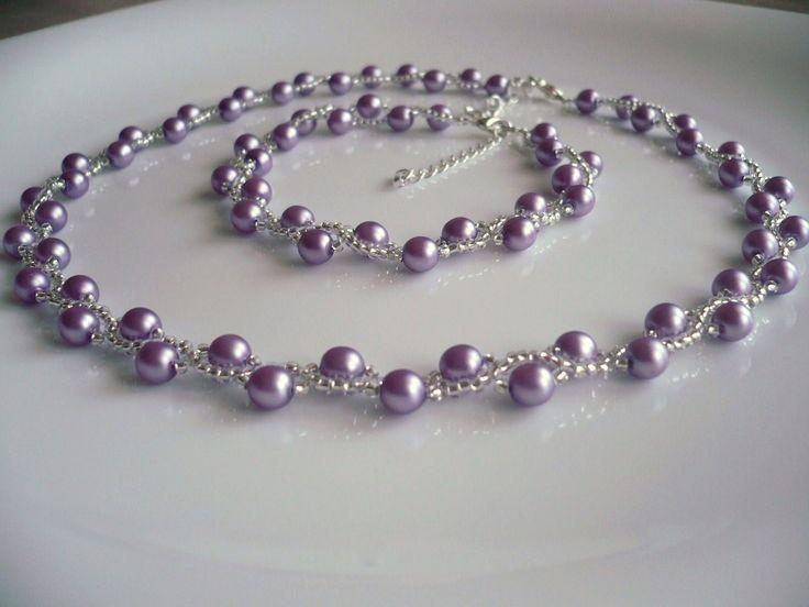 Handmade necklace/Handmade náhrdelník ...MARIANNA... www.anabelhandmade.sk