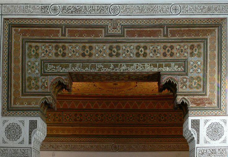 https://flic.kr/p/Rfir4Y | MARRAKECH (Maroc). Marrakech-Tensift-Al Hauz. 2006. Palais de la Bahia. Detalle.