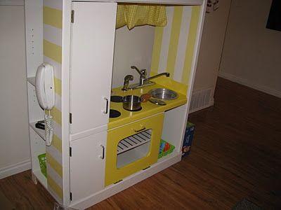 DIY Play Kitchen Set for Kids!