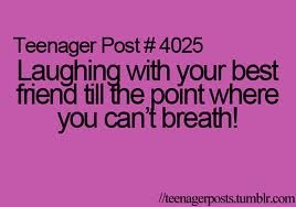 Good Laughing With Your Best Friend Till Picture Quotes