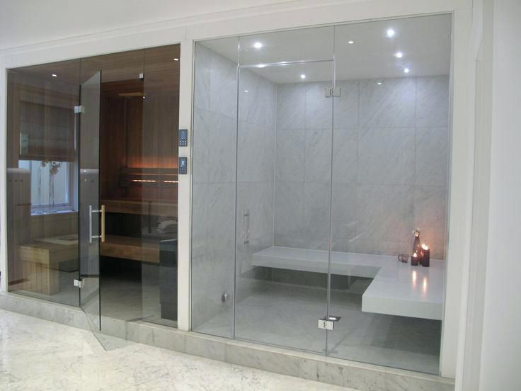 Steam Room Cubical Sauna A Vapor Sauna Decoracao De Casa